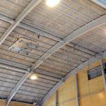 体育館の天井