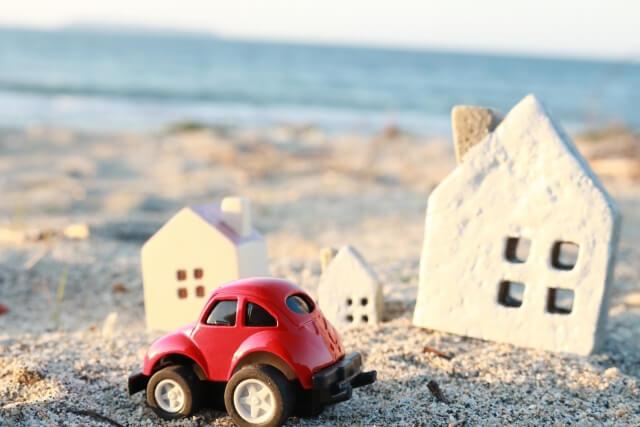 地震時の車イメージ