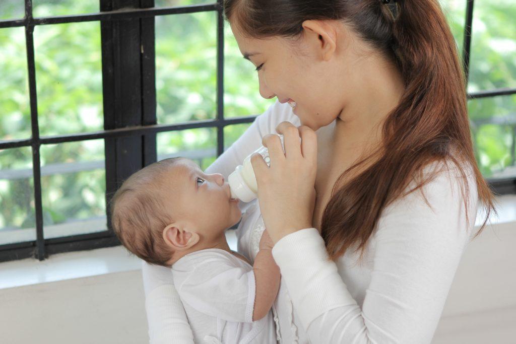 赤ちゃんの非常食-新生児