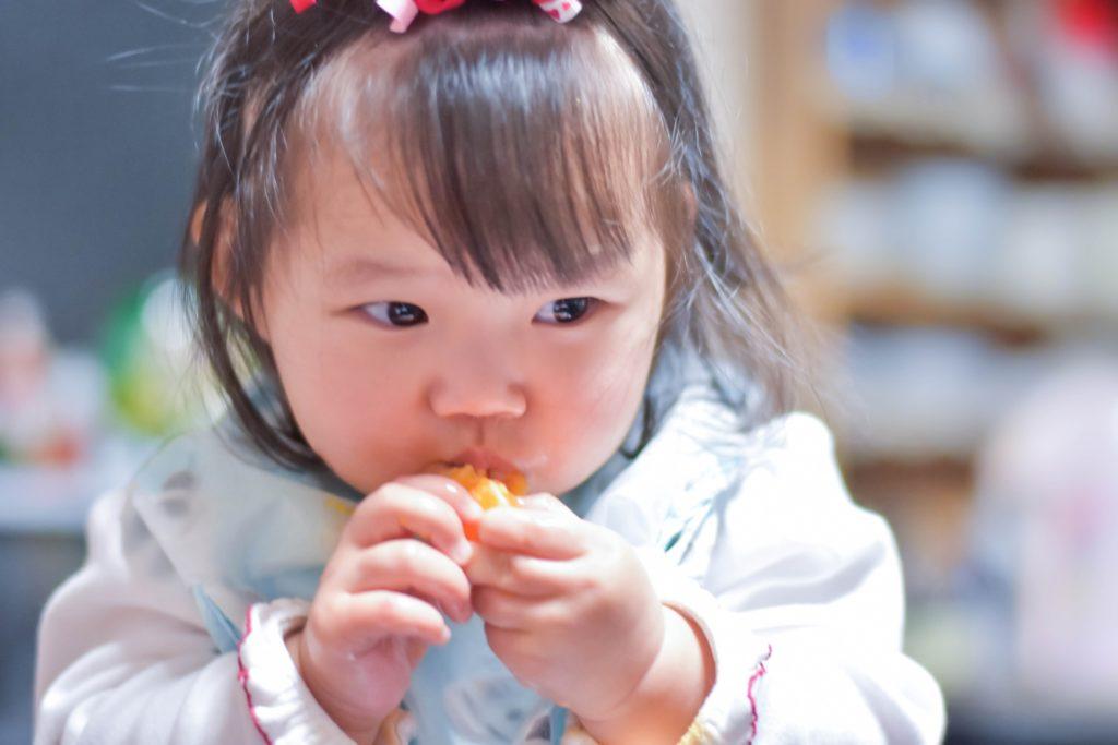 赤ちゃんの非常食-手づかみ食べ