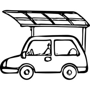 自家用車+カーポート
