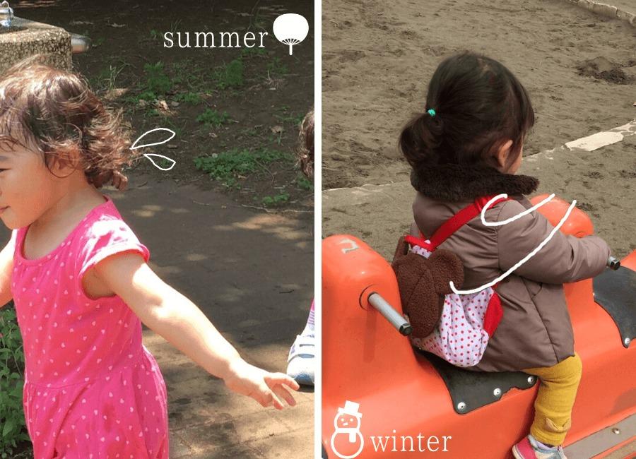 夏の子どもと冬の子ども