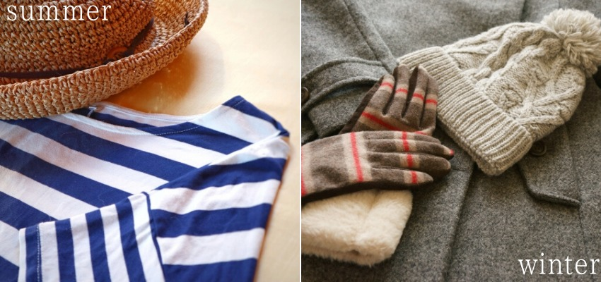 夏服と冬服
