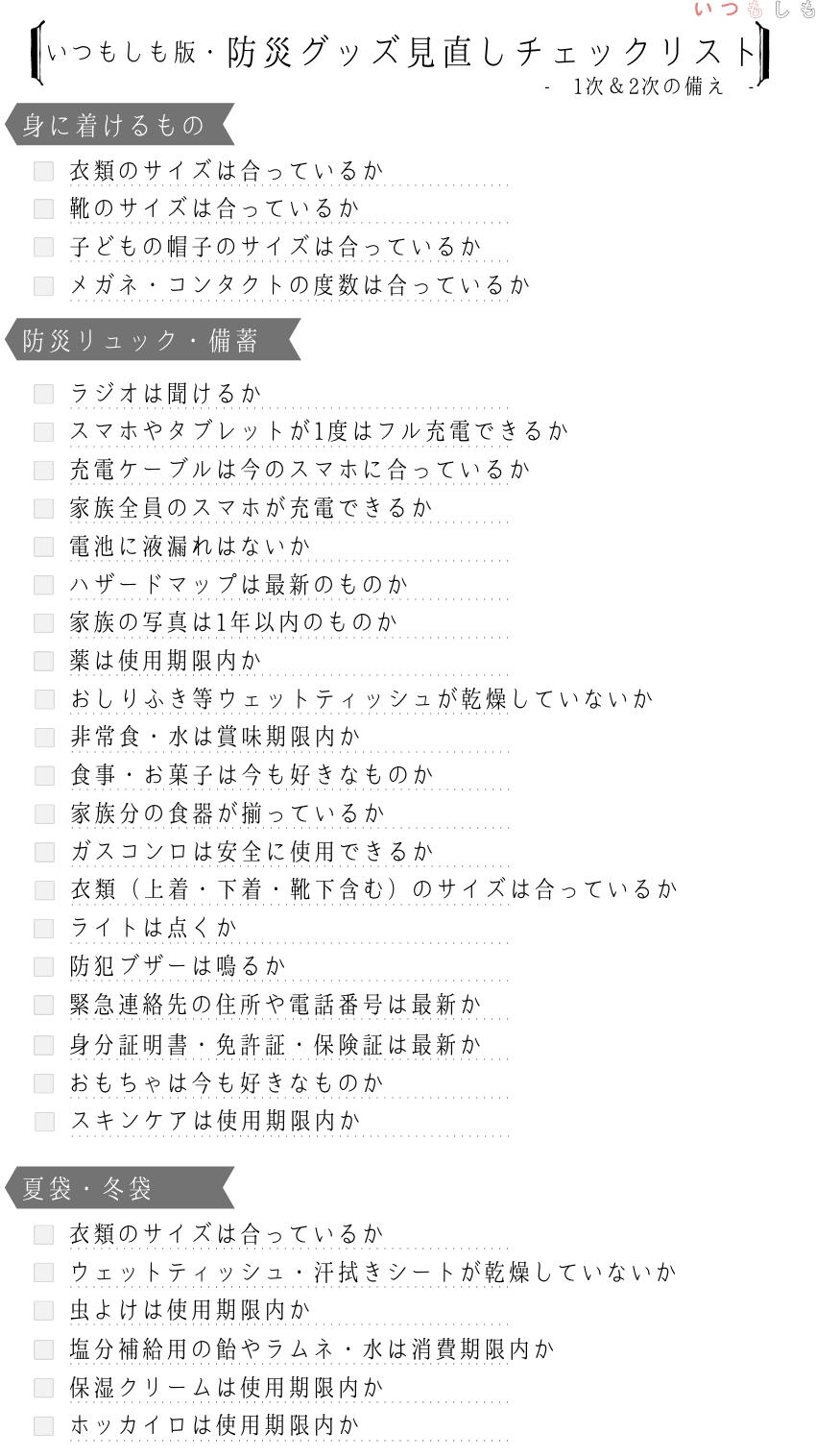 見直しチェックリスト_1.0
