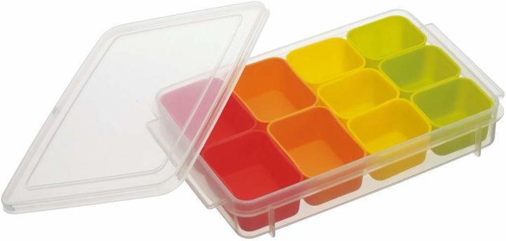 冷凍保存容器-シリコンカップ
