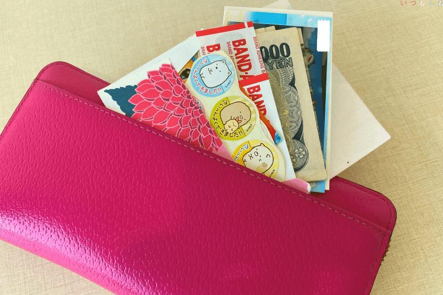 0次の備え_財布の外ポケット