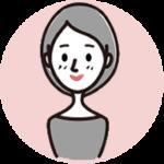 微笑む女性アイコン