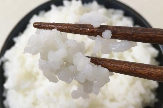 サタケ水ご飯箸上げアップ