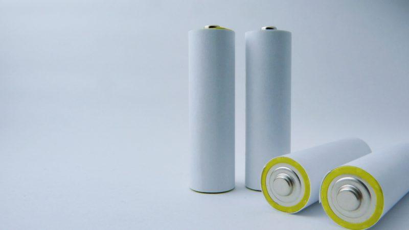 シンプルな単3乾電池