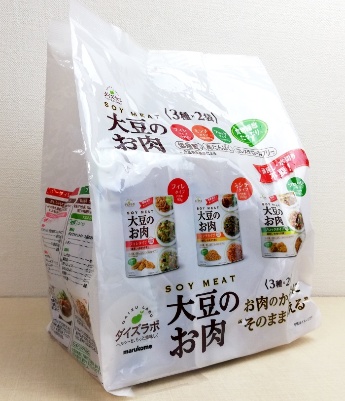 マルコメダイズラボ大豆のお肉レトルト6袋