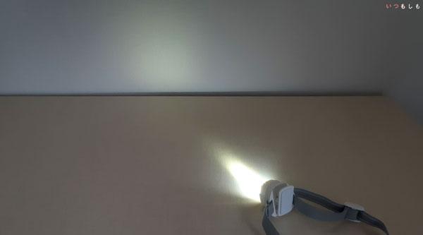 コンパクトヘッドライト点灯