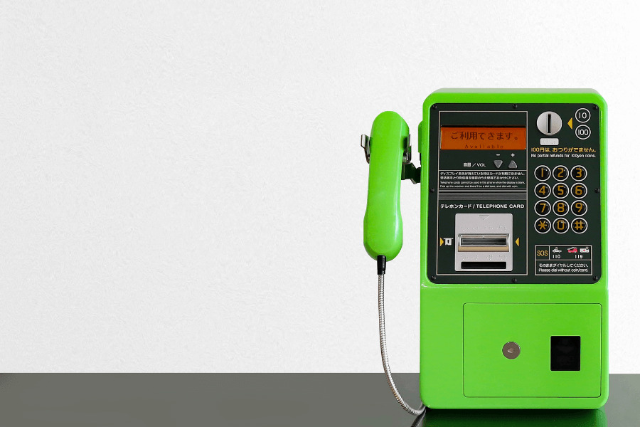デジタル公衆電話